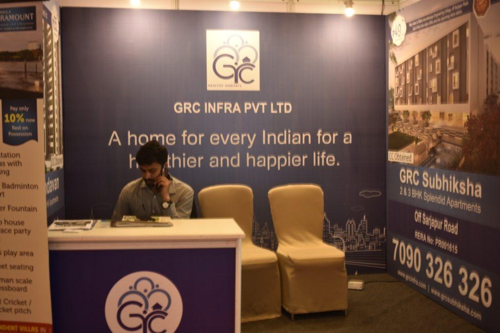 GRC stall at Brandland property expo