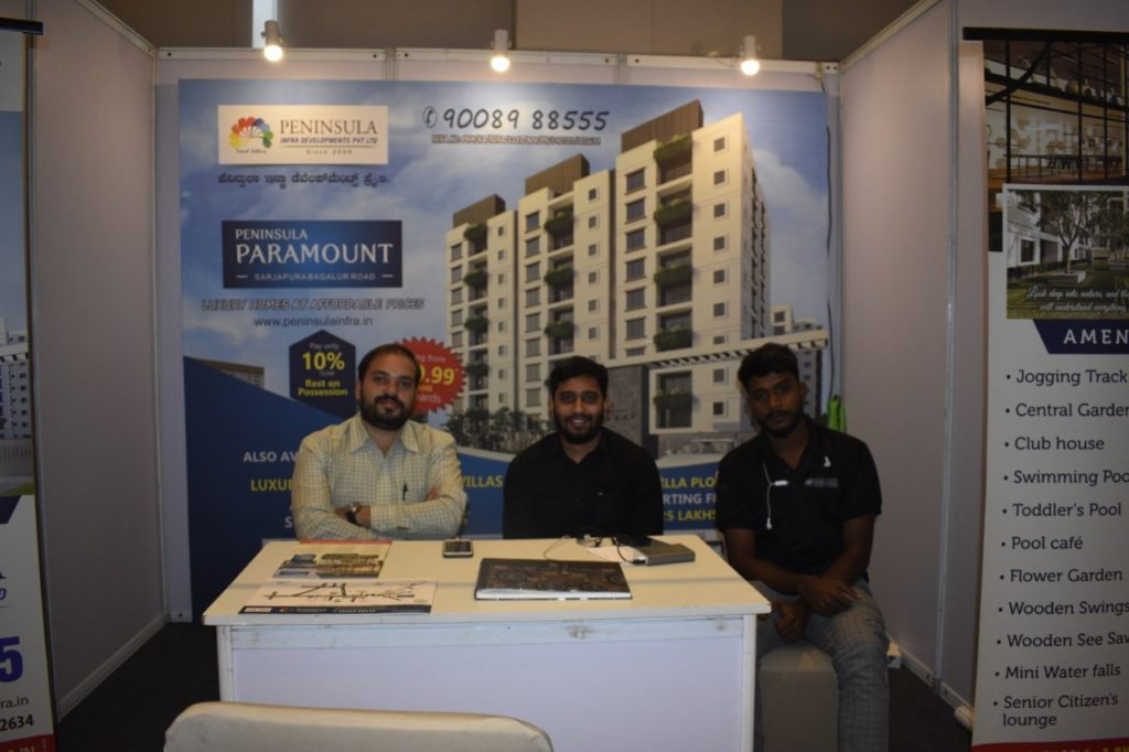 Stalls at Property expo