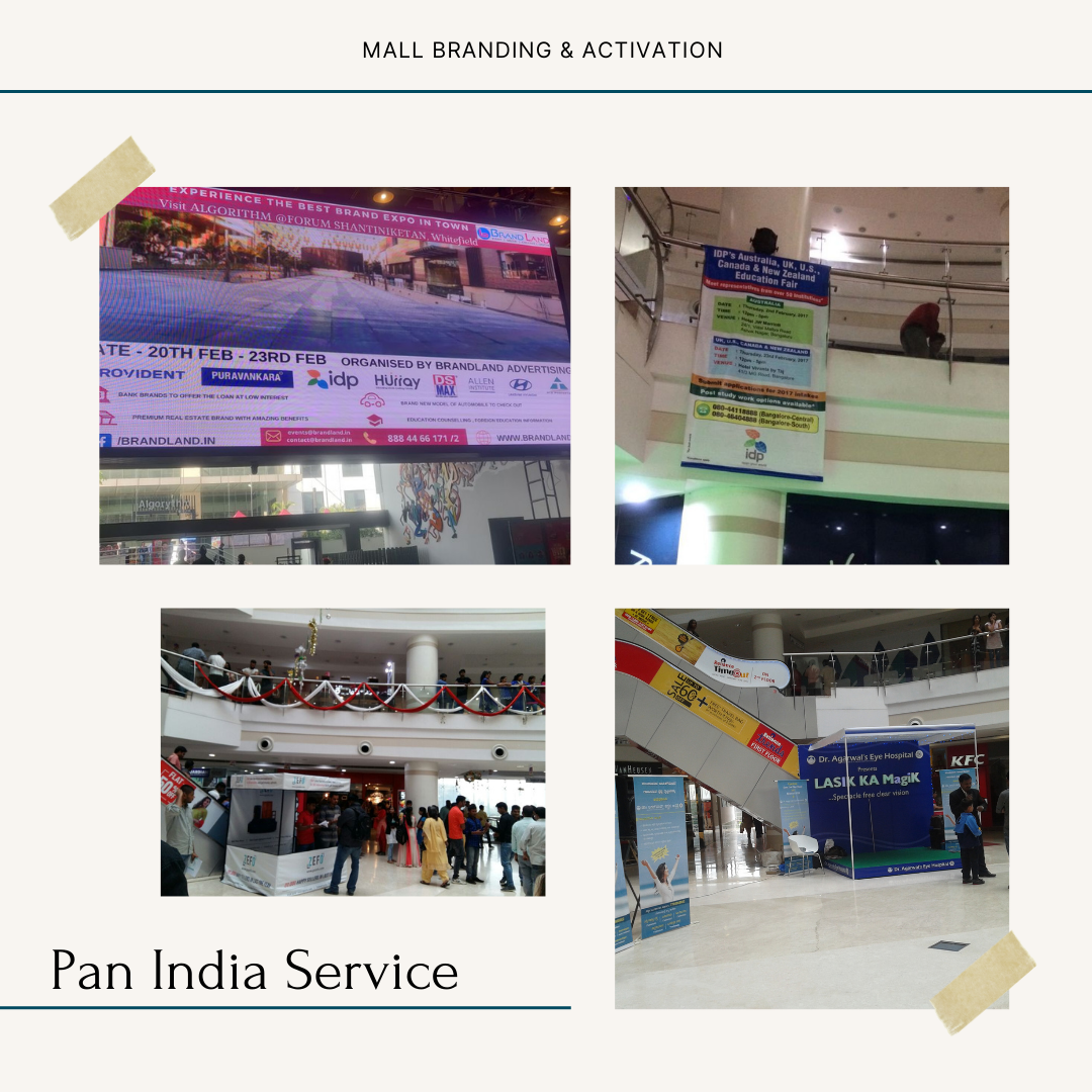 Mall Activation and branding