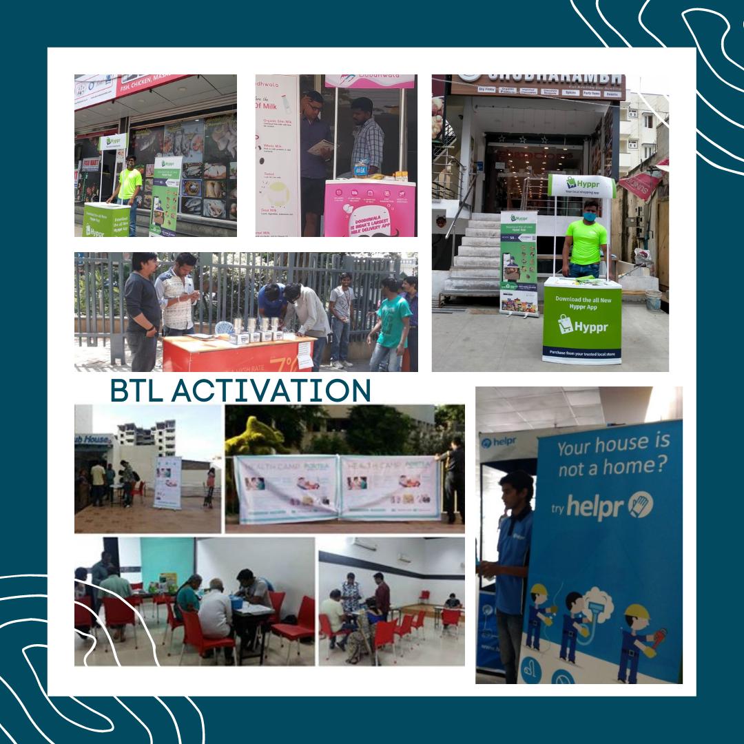 BTL Activation done for Helpr